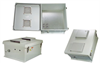 18x16x8 Inch Vented Weatherproof NEMA Enclosure with Mounting Plate -- NB181608-00V -Image