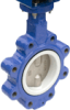 Teflon-Lined Butterfly Valve -- BY-W/LT Series