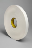 3M™ Double Coated Polyethylene Foam Tape 4466 White, 2 in x 36 yd, 6 rolls per case -- 4466