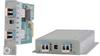 Industrial SFP to SFP Protocol-Transparent Fiber Converter -- iConverter® xFF Industrial Media Converter