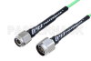N Male to TNC Male Low Loss Cable 24 Inch Length Using PE-P160LL Coax -- PE3C5267-24 -Image