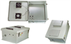 18x16x8 Inch Weatherproof Enclosure with PoE Interface and Solid State Fan Controller -- NB181608-40FS -Image