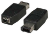6P Male to 4P Female FireWire Adapter -- 160302