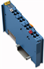 1-channel digital input module; NAMUR; Ex i; with diagnostics; Cat. ia -- 750-435 - Image