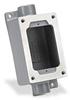 Haz-Loc Splice/Device Box: single gang, (2) 3/4 inch hubs -- SWB-5 -- View Larger Image