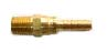 Brass Multi-Barbs Swivels Hose -- BHAS-6M8B