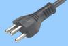 Swiss 16 Amp Cord Set w/ Angled C19 Connector -- 86285450 -Image