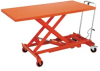 JET Large Top Mobile Scissor Lift Table -- 7630900