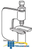 """Erico Dual Purpose Strut / Beam Clamp, up to 1"""".. -- 200RS500 -- View Larger Image"""