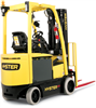 Electric Forklift Trucks, 4 Wheel - Image
