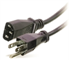IEC POWER CORD 1 FOOT FOR NETWORK EQUIPMENT BLACK -- 39-200-12 -Image