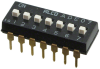 DIP Switches -- 1825057-6-ND - Image