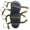 CLC Molded Natural Rubber Kneepads (Double Strap) -- Model# 319