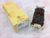 ELECTRICAL AC POWER, RECEPTACLE, 15A, 125V CONNECTOR TYPE:ELECTRICAL AC POWER CURRENT RATING:15A CONNECTOR COLOUR:BROWN CONNECTOR BODY MATERIAL:PE -- HBL5252