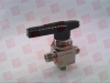 SWAGELOK SS-44XS6 ( SWAGELOK, SS-44XS6, SS44XS6, BALL VALVE, 3WAY 2.0 CV, 3/8IN. SWAGELOK SS TUBE FITTING, 40 SERIES ) -Image