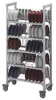 Shelving Dome Drying and Storage Cart -- EACSDDCPKG480