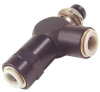 Control Valve,3Way,NC,1/4in Push In -- 14F270