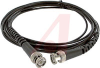 Cable Assy; 120 in.; 26 AWG; RG174/U; Non Booted; Black Jacket; UL Listed -- 70197964 - Image