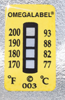 Non-Reversible Temperature Labels -- TL-4