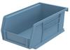 Akro-Mils Akrobin 10 lb Light Blue Industrial Grade Polymer Hanging / Stacking Storage Bin - 7 3/8 in Length - 4 1/8 in Width - 3 in Height - 1 Compartments - 30220 LIGHT BLUE -- 30220 LIGHT BLUE