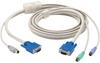 KVM FLASH CABLE VGA PS2 TO SUN CPU 16FT -- EHN429-0016 -- View Larger Image
