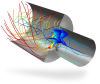 COMSOL Multiphysics® -- CFD Module - Image