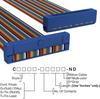 Rectangular Cable Assemblies -- C3DES-4018M-ND -Image