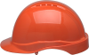 Elvex Tectra™ Safety Helmet, 6 Point Suspension, Orange -- SC-50-6R