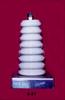 Porcelain Corrugated Base Insulator -- 6-51 -Image