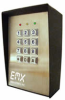 Secure Entry for Gates and Doors Keypad -- KPX 100 - Image