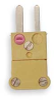Thermocouple Plug,K,Miniature,Yellow -- 3FXN4