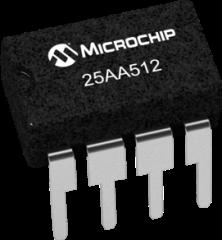 25AA512 Datasheet -- Microchip Technology, Inc  -- 512Kbit