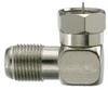 F Series Plug to Jack Angle Adapter -- 0485-0401-TP - Image