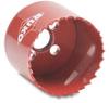 Hole Saw: bi-metal HSS, 2-11/64 inch (55mm) diameter -- 106055 -- View Larger Image