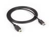 USB 3.1 Cable Type C Male to USB 2.0 Mini B 1-m (3.2-ft.) -- USBC2MINI-1M -- View Larger Image