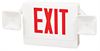 Combo Exit Signs -- ex-0409b2rw