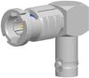 50 OHM HD-BNC R/A PLUG TO JACK ADAPTER -- APH-RA-HDP-J-50 - Image