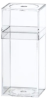 Clear Plastic Boxes with Lids -- 55291 - Image