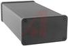 Enclosure; Extruded Aluminum; Plastic; 0.06 in.; Black Anodized -- 70166730