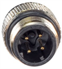 Category 5e M12 4 Position D code SF/UTP Industrial Cable, M12 M / M12 M, 2.0m -- TRG501-T4T-2M -Image