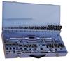 56 Piece METRIC TAP SET- Metal Box -- T9173