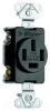 Duplex/Single Receptacle -- 3822 - Image