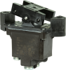 TP Series Rocker Switch, 2 pole, 2 position, Screw terminal, Flush Panel Mounting -- 2TP8-2 - Image