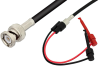 BNC Male to Hook Cable 24 Inch Length Using RG58 Coax -- PE33561-24 -- View Larger Image