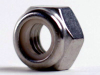 M2.5X.45 Nylock Nut Stainless Steel A2 DIN985, M2.5X.45 -- M50349 - Image