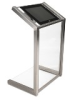 Interactive Kiosk in Acrylic and Stainless Steel -- 6825-X6-SS