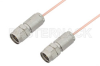 1.85mm Male to 1.85mm Male Cable 6 Inch Length Using PE-047SR Coax, RoHS -- PE36519LF-6 -Image
