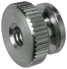 RAF ELECTRONIC HARDWARE - M3565-SS - STAINLESS STEEL ROUND THUMB NUTS -- 827270 - Image