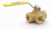 Brass Ball Valves Series 533 -- Female-Female-Female Pipe Ends XV533P