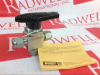 BALL VALVE BRASS 1/4INCH 3WAY -- SS43XS4